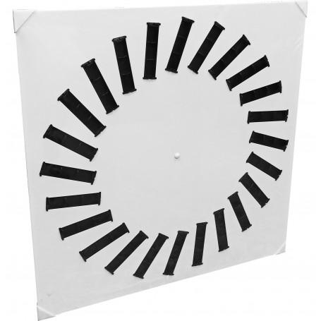 Difusor rotacional de techo 24 ranuras