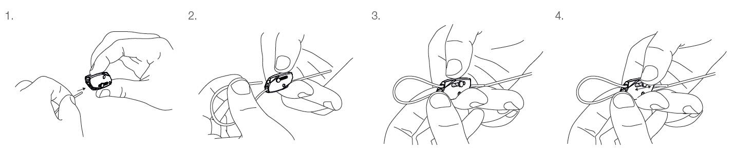 instrucciones del dispositivo de bloqueo